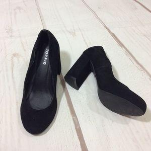 Torrid Block Heel Suede Shoes